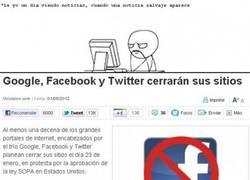 Enlace a Cierran Facebook