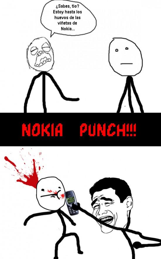 Yao - Nokia punch!