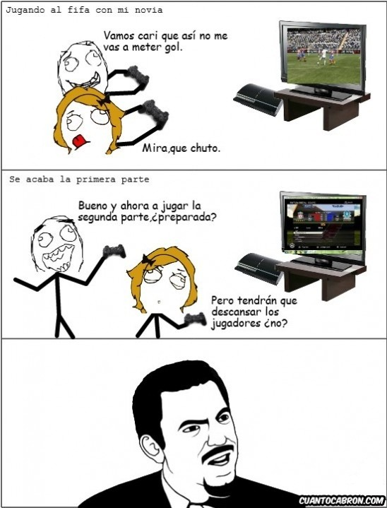 Are_you_serious - Jugando al Fifa con la novia