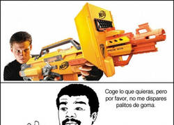 Enlace a Nerf y sus malotes