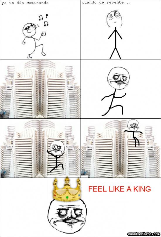 Me_gusta - Feel like a king