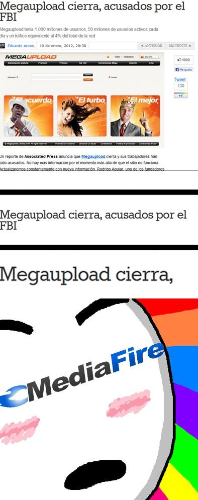 Amazed - Cierran megaupload