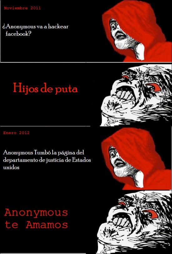 Inglip - Hipocresía con Anonymous
