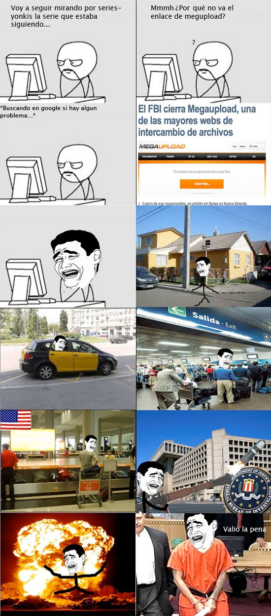 bazooka,carcel,Explosion,FBI,internet,megaupload,ordenador,yao ming