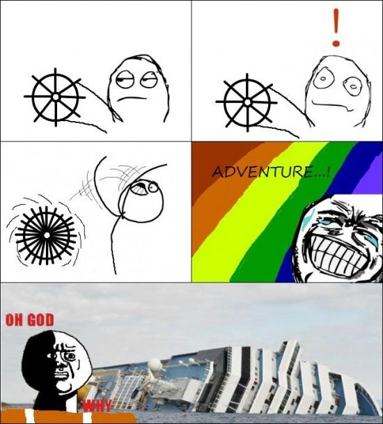 Oh_god_why - Lo típico cuando ves una rueda