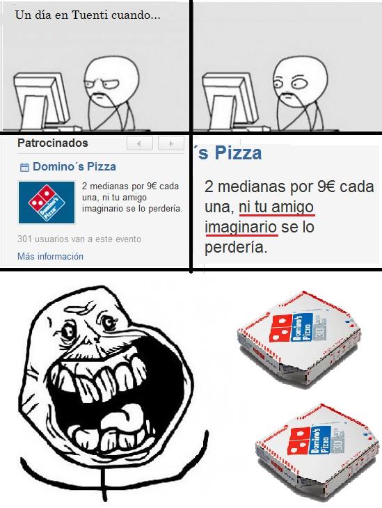 Forever_alone - Domino's Pizza