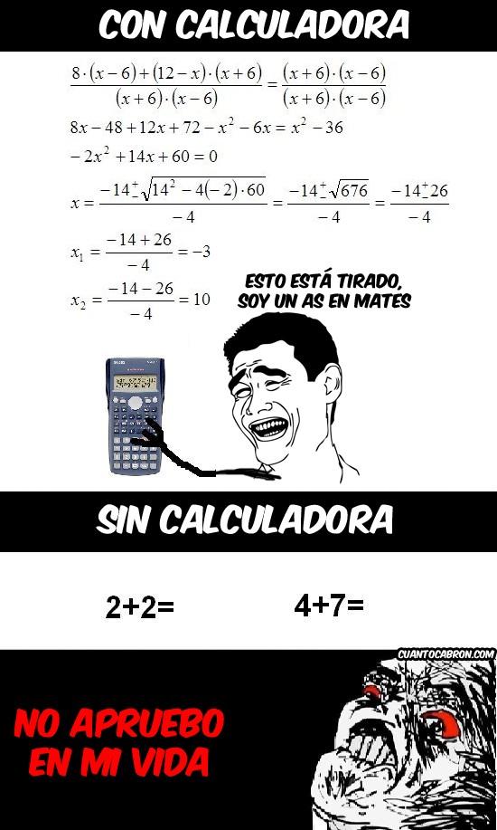 Inglip - Las calculadoras te malacostumbran