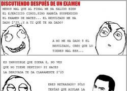 Enlace a Después de un examen