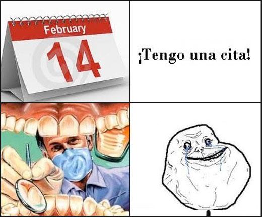 Forever_alone - Citas en San Valentín