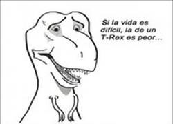 Enlace a La vida de un T-Rex no es fácil