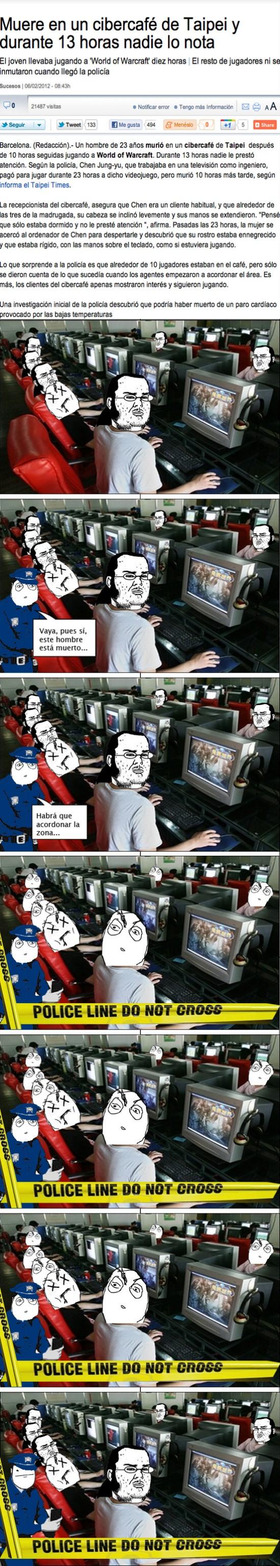 chino,cyber,muerte,wow
