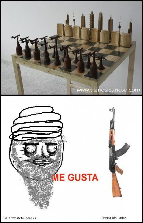 Me_gusta - El juego preferido de Bin Laden