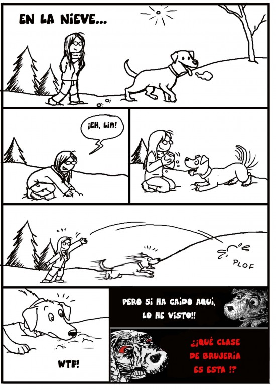 Inglip - Y así troleo a mi perro