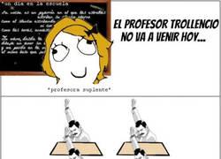 Enlace a Cuando el profesor no viene