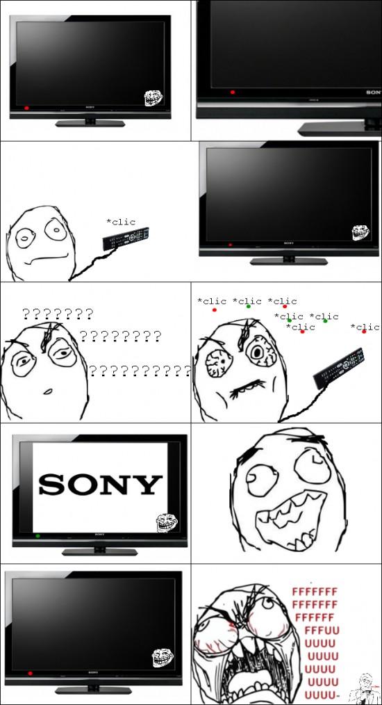 Ffffuuuuuuuuuu - Me desespera encender la TV