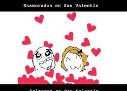 Enlace a San Valentín no deja indiferente