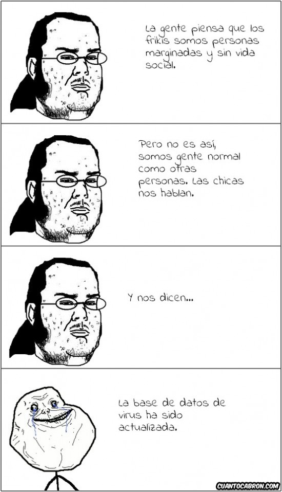 Forever_alone - Las chicas nos hablan
