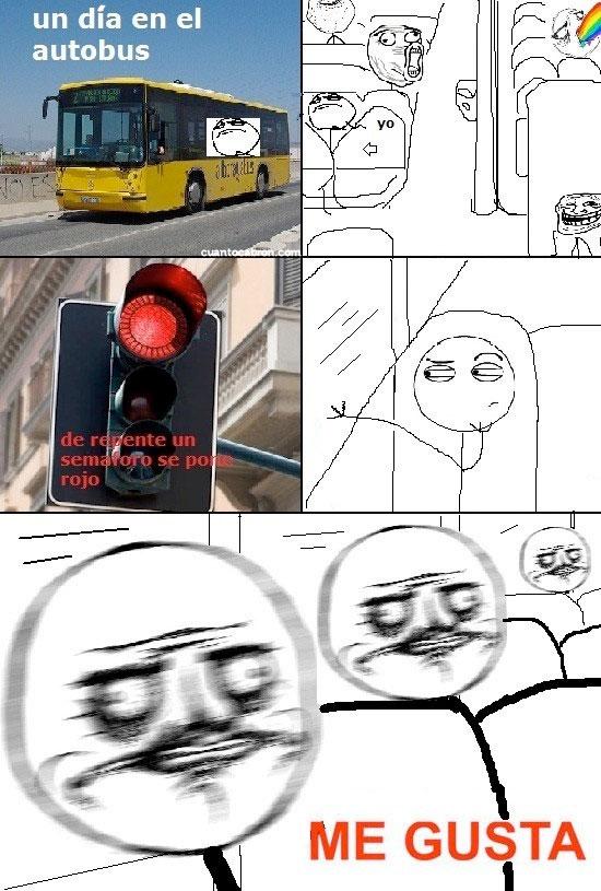 Me_gusta - La vibración de la ventana del bus