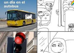 Enlace a La vibración de la ventana del bus