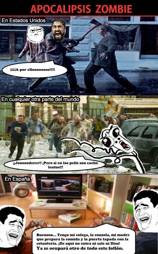 300,americanos,apocalipsis,correr,españoles,esparta,leonidas,omg run,yao,zombies