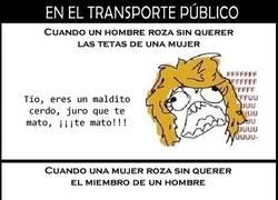 Enlace a El transporte público