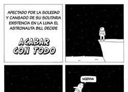 Enlace a Suicidarse en el espacio