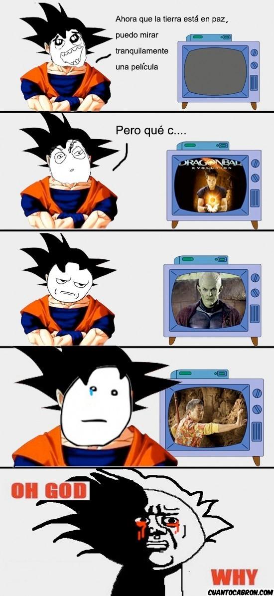 Oh_god_why - Pobre Goku