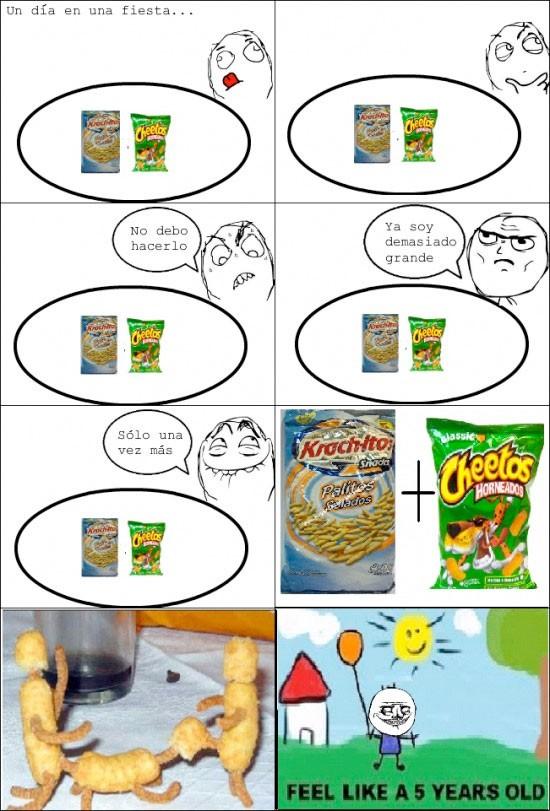 Me_gusta - Palitos + Cheetos