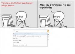 Enlace a Hotmail me trollea