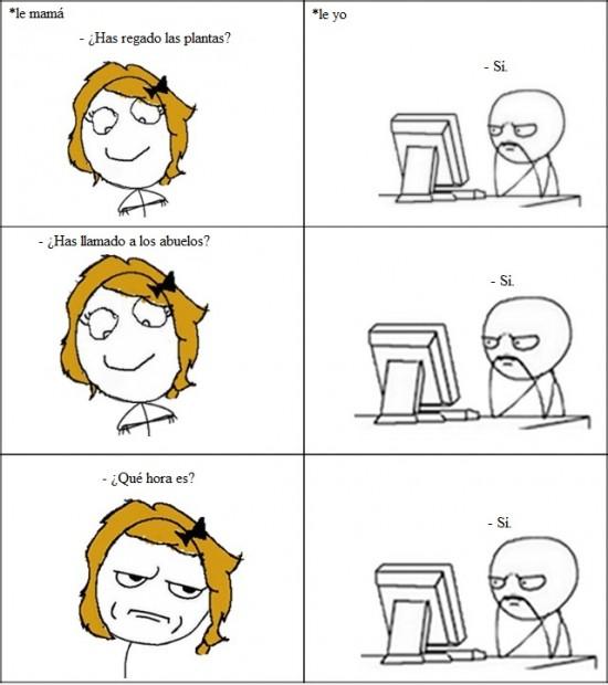computer guy,kidding me,madre,preguntas,respuestas,sí