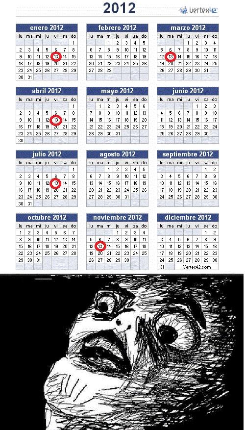 Inglip - Este año pinta mal, muchos martes y viernes 13