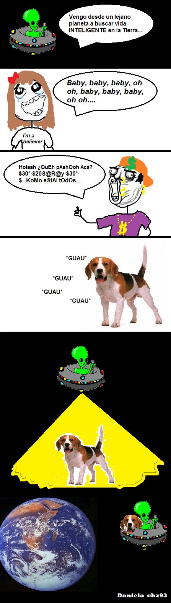 beliebver,cani,extraterrestre,perro abducir