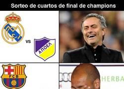 Enlace a Sorteo de cuartos de final de Champions League
