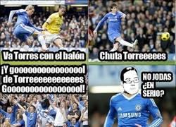 Enlace a Torres y su esperado gol