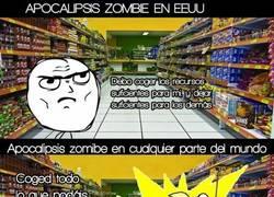 Enlace a Diferentes casos de apocalipsis zombie