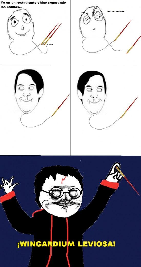 Me_gusta - ¿Quién no hace esto con un palillo chino?