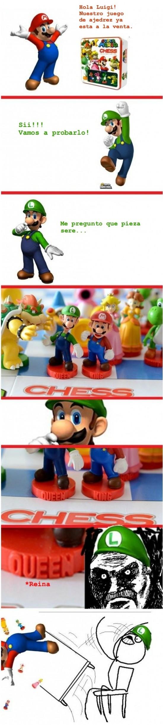 Desk_flip - Luigi, la reina