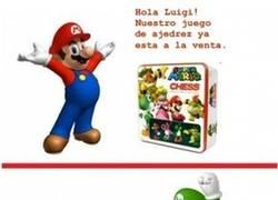 Enlace a Luigi, la reina