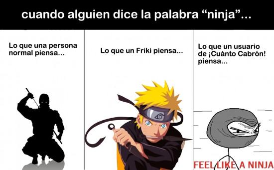 Feel_like_a_ninja - Un ninja es un ninja