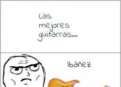 Enlace a La mejor guitarra