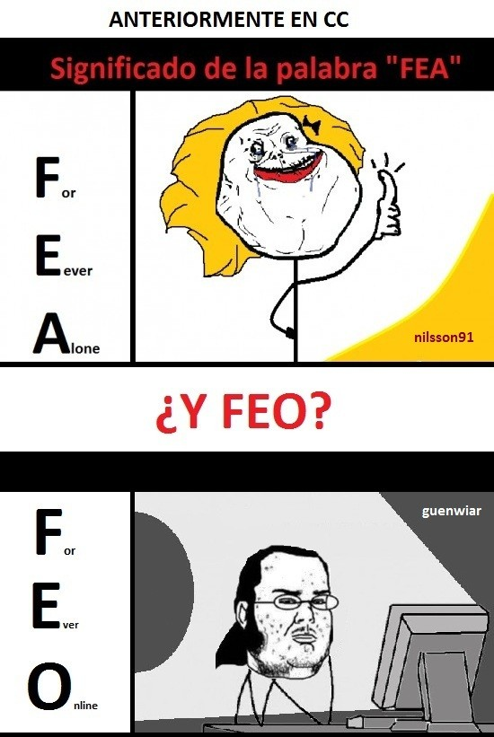 Friki - FEO & FEA