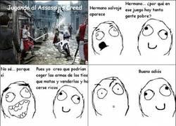 Enlace a El negocio de Assassin's Creed