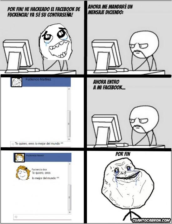 facebook,Forever Alone,fuckencia,fuckencio martínez