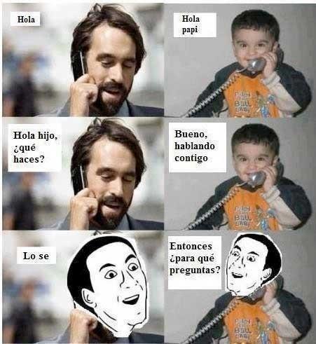 No_me_digas - Hijo al habla
