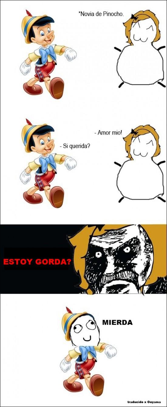 Cuanto Cabron La Novia Gorda De Pinocho