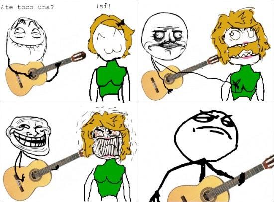 fuck yea,guitarra,me gusta,troll