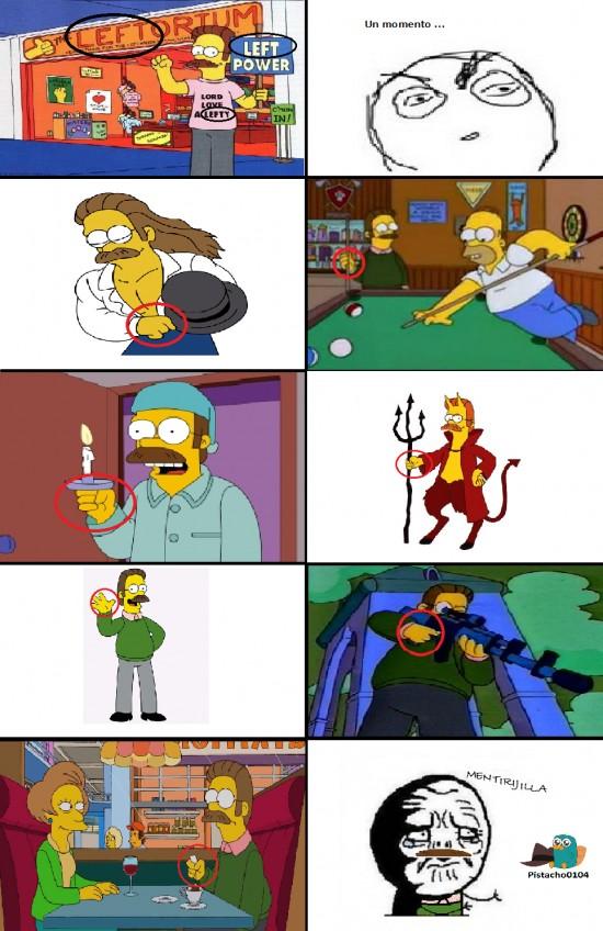 Mentira - La Mentirijilla de Ned Flanders
