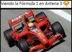 Enlace a Antena 3 y las retransmisiones de F1