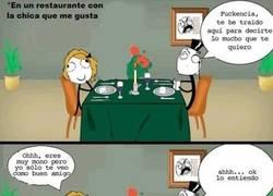 Enlace a En el restaurante