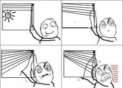 Enlace a Malditas cortinas persiana
